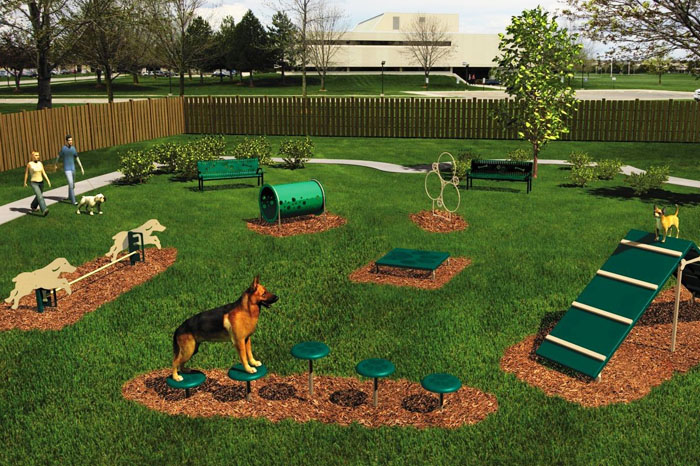 BarkPark Dog Agility Course